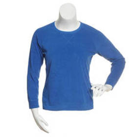 Goodnight Kiss Solid Heathered Thermal Knit Pullov