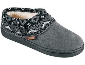Natural Reflections® Women's Suede Clog Slippers