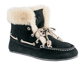 Natural Reflections® Women's Suede Slipper Booties