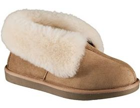 Natural Reflections® Women's Shearling Cuff Bootie