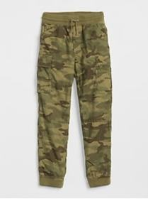 Lined Cargo Joggers