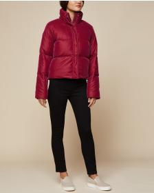 Juicy Couture Velvet Puffer Jacket