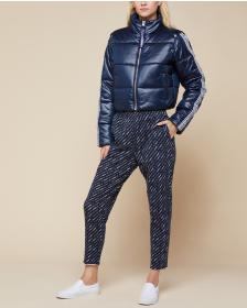 Juicy Couture JXJC Snap Off Sleeve Puffer Jacket