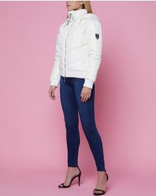 Juicy Couture Angel Hooded Down Puffer Jacket