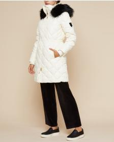 Juicy Couture Angel Hooded Down Puffer Coat