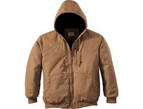 Cabela's Men's Washed Canvas Hooded Jacket with Th