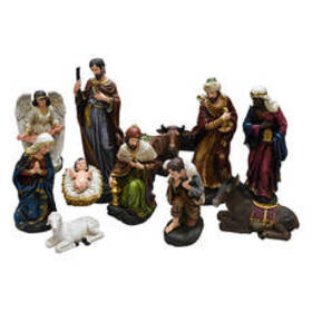 Northlight Seasonal 11pc. Holy Family & Three King