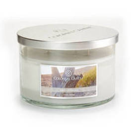 Colonial Candle Warm Driftwood 3 Wick 15oz. Candle