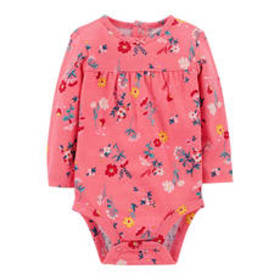 Baby Girl (3-24M) Carter's® Floral Print Long Slee