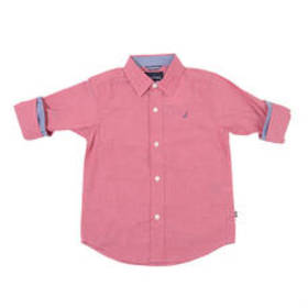 Boys (4-7) Nautica Keith Chambray Roll Up Woven To