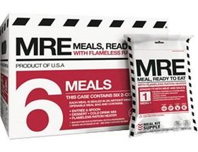 Meal Kit Supply® MRE Two-Course Meals – Six-Pack