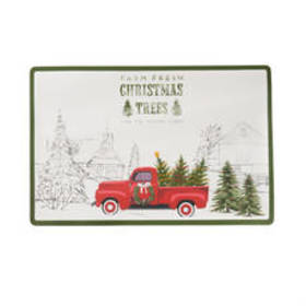 Farm Fresh Christmas Tree Placemat
