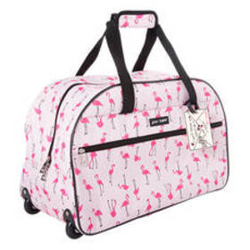 Betsey Johnson Flamingo Strut 22in. Duffel