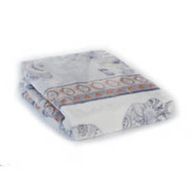 Odine Elephant Print Plush Throw