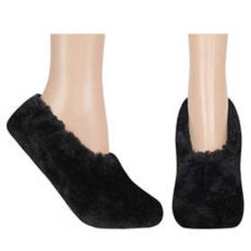 Womens Capelli Bunny Fur Slippers