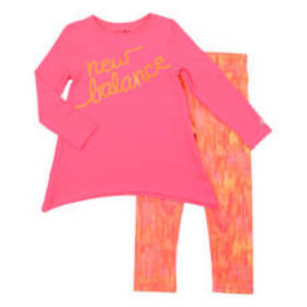 Girls (4-6x) New Balance 2pc. Active Top & Legging
