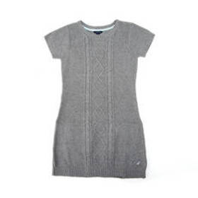 Girls (7-16) Nautica Cable Detail Sweater Dress