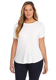 Plus Size Basic Tee