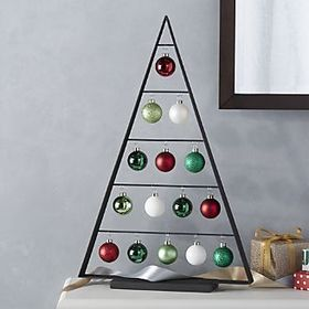 Chalet Large Zinc Ornament Tree