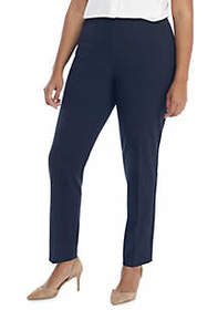 Plus Size Signature Skinny Pant with Zip Pockets i