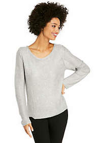 Open V-Back Sweater