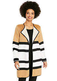 Striped Plush Jacket