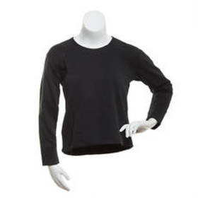 RBX Jacquard Quilted Body Crew Neck Top