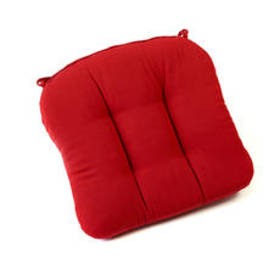 Pompei Red Chair Pad