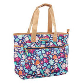 Lily Bloom Racoon Harvest 16in. Tote