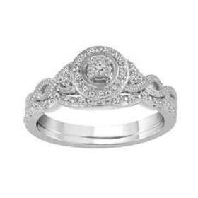 Womens Endless Affection™ 1/16ctw. Round Diamond B