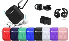 AirPod Case Cover and Accessory Pack (5Pcs/Set) (A