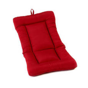 Red Large Euro Lounge Chair Cushion