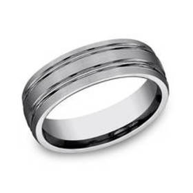 Mens Endless Affection™ Tungsten Band