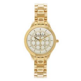 Womens Nicole Miller New York Gold-Tone Watch - NY