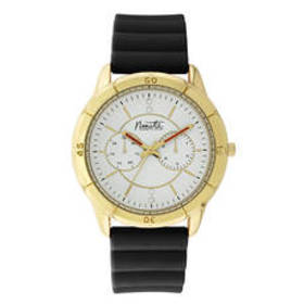 Womens Nanette Lepore Gold Case Watch - 80860
