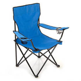 Deluxe Folding Quad Chair - Blue