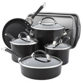 Circulon® Anodized 9pc. Cookware with 2pc. Bakewar