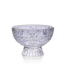 Footed Glass Candy Bowl