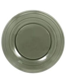 Smoke Glass Charger Platter