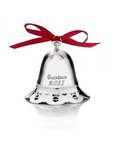 2011 Silver Plated Musical Bell Ornament, 31st Edi