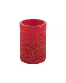 4x6 Inch Red Bead LED Candle