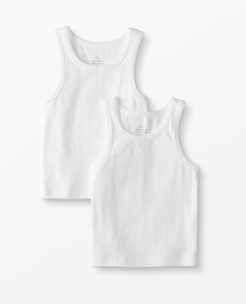 Tank Undershirt 2 Pack In Organic Cotton