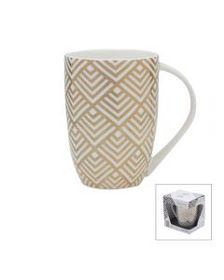 Diamond Geo Gold Mug