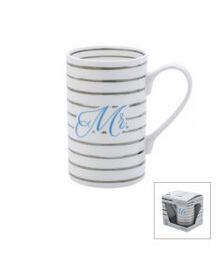 Mr Platinum Stripes Mug