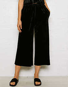 Don't Ask Why Velvet Culottes