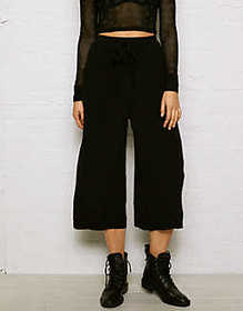 Don't Ask Why Cropped Wide Leg Pant
