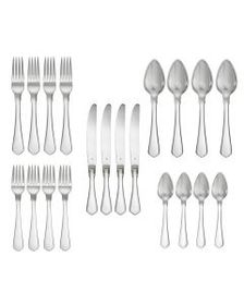 Paris 20 Piece Flatware Set, Service for 4