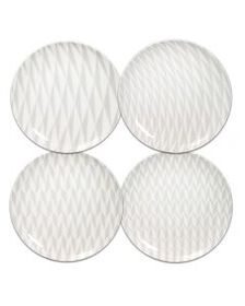 Set of 4 Assorted Salad Plates