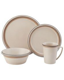 Tan 4 Piece Place Setting