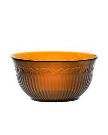 Amber Glass Cereal Bowl